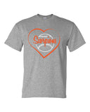 Scorpions Baseball Dry Blend Short Sleeve Tee SP_Heart - L&M Spirit Gear  - 2