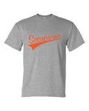 Scorpions Baseball Dry Blend Short Sleeve Tee SP4 Glitter - L&M Spirit Gear  - 2