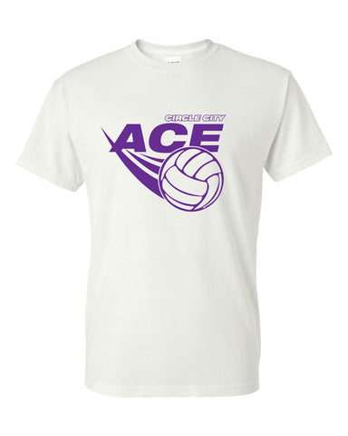 Circle City Ace Volleyball Short Sleeve Tee SP - L&M Spirit Gear
