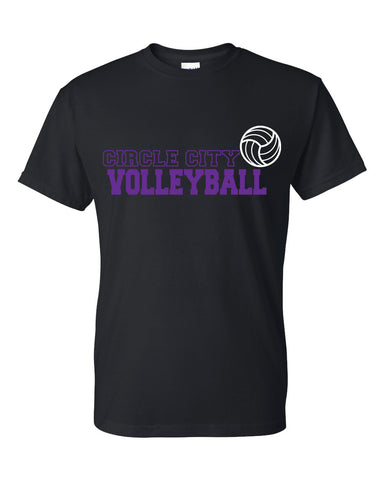 Circle City Volleyball - Unisex Short Sleeve Tee - SP1