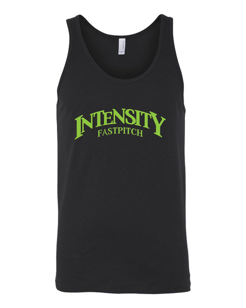 Indy Intensity Youth Black or Athletic Heather Unisex Jersey Tank - L&M Spirit Gear  - 1