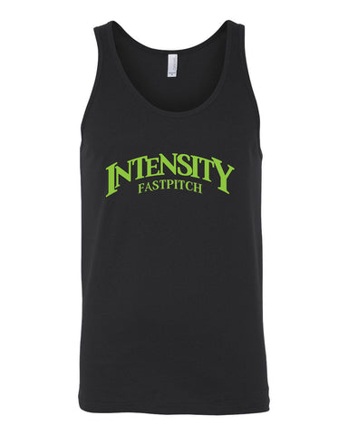 Indy Intensity Adult Black or Grey Triblend Unisex Jersey Tank - L&M Spirit Gear  - 1