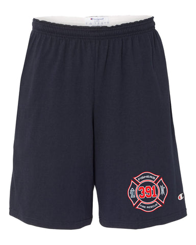 "Copy of Fishers Fire 391 9"" Inseam Cotton Jersey Shorts with Pockets SP"