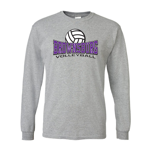 Brownsburg Volleyball Ultra Cotton Long Sleeve T-Shirt SP - L&M Spirit Gear