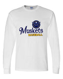 Muskets Baseball Youth Dry Fit Long Sleeve Tee - SP