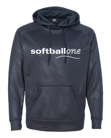 Softball one Volt Polyester Hooded Pullover Sweatshirt SP - L&M Spirit Gear