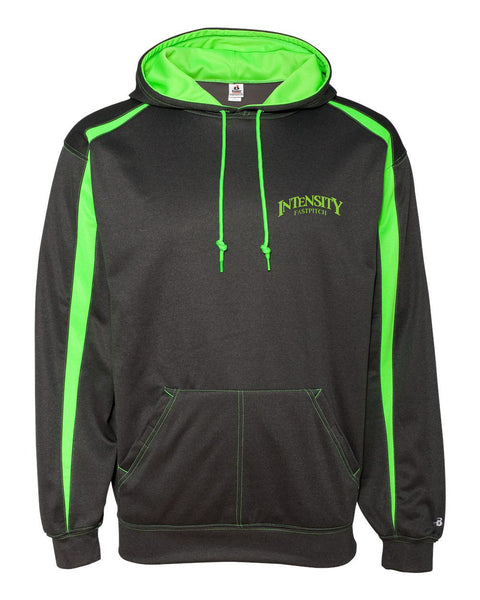 Indy Intensity Pro Heather Fusion Performance Fleece Hooded Pullover - L&M Spirit Gear