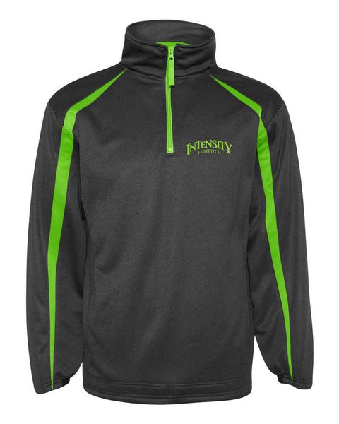 Indy Intensity Pro Heather Fusion Perfomance Fleece Quarter-Zip Pullover - L&M Spirit Gear  - 1