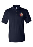 Yorktown Fire Department Polo with Tiger Embroidery - L&M Spirit Gear