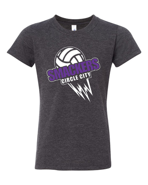 Circle City Smackers Volleyball Youth Garment Dyed Ringspun T-Shirt SP - L&M Spirit Gear  - 1