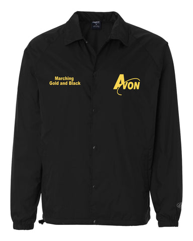 Avon Band Nylon Coach's Jacket EMB - L&M Spirit Gear