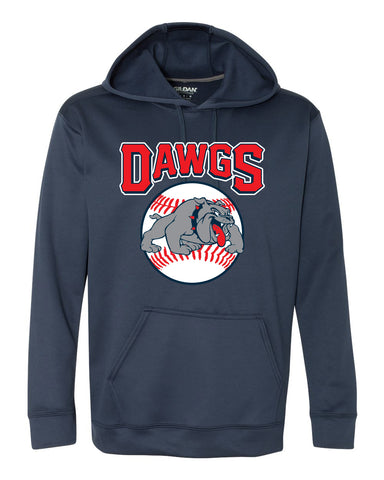 Diamond Dawgs Adult Polyester Hooded Sweatshirt - SP