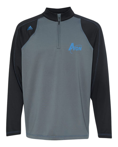 Avon Band Climawarm+® Quarter-Zip Colorblocked Training Top EMB