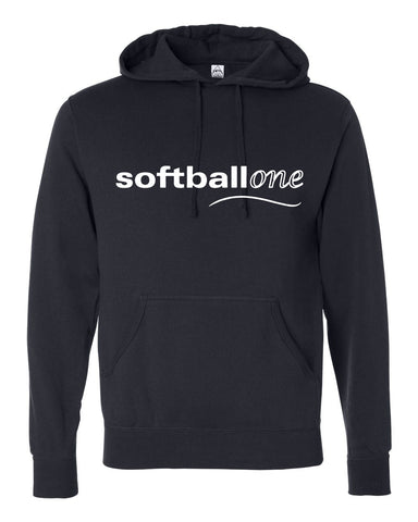 Softball one Hooded Pullover Sweatshirt SP - L&M Spirit Gear