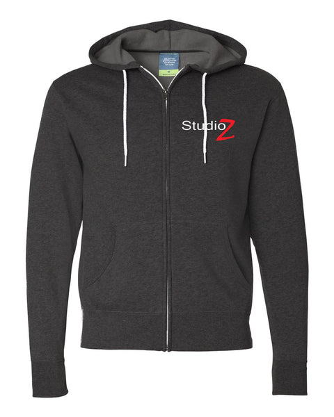 Studio Z Unisex Hooded Full-Zip Sweatshirt SP