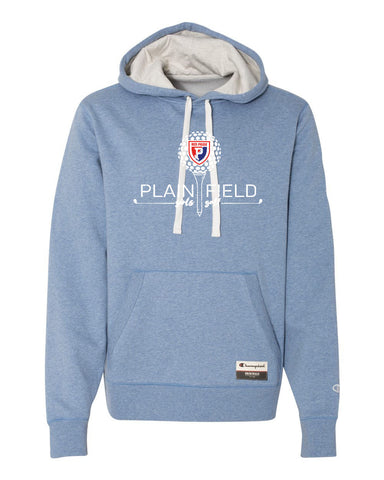 PCMS Golf Champion Blue Hooded Pullover - SP
