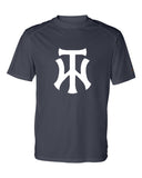 TW Navy B-Core Short Sleeve T-Shirt Screen Print Logo - L&M Spirit Gear