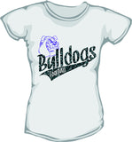 Glitter Brownsburg Bulldogs with Tail - L&M Spirit Gear