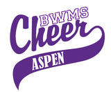 BWMS Cheer Car Decal - L&M Spirit Gear  - 1