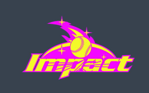 Impact Softball on Charcoal SP2 - L&M Spirit Gear  - 1