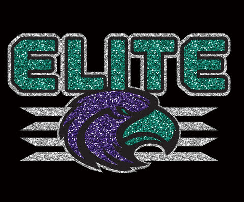 Glitter Elite Stripe - L&M Spirit Gear