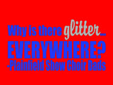 Why is there glitter EVERYWHERE? - L&M Spirit Gear