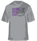 Heather Bulldogs Print SP - L&M Spirit Gear