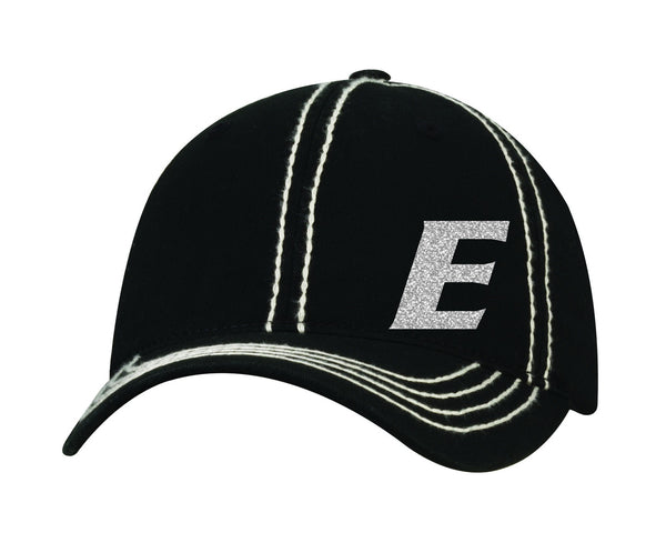 Adjustable Glitter Hat V - L&M Spirit Gear