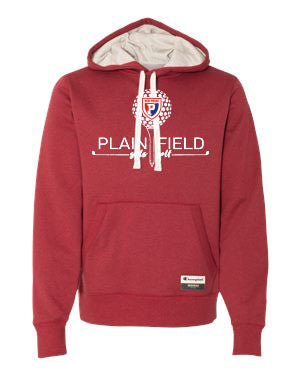 PCMS Golf Champion Red Hooded Pullover - SP