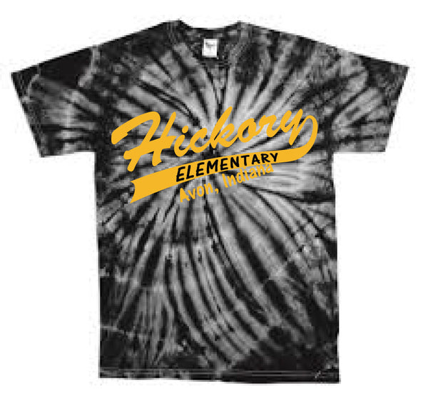 Hickory Elementary with Tail Tie Dye - L&M Spirit Gear