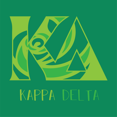 Kappa Delta Comfort Colors Unisex Short Sleeve T-Shirt SP - L&M Spirit Gear
