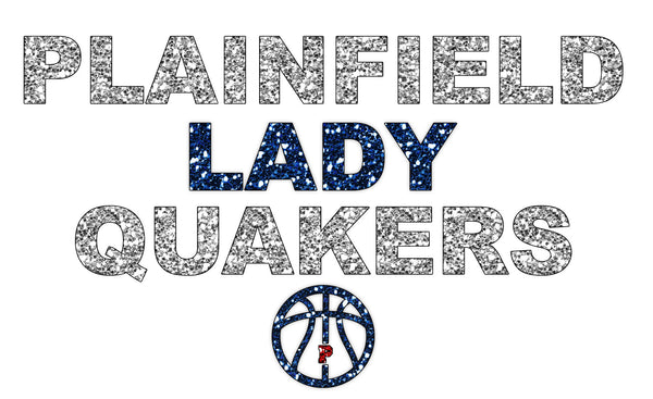 Glitter Lady Quakers 2 - L&M Spirit Gear