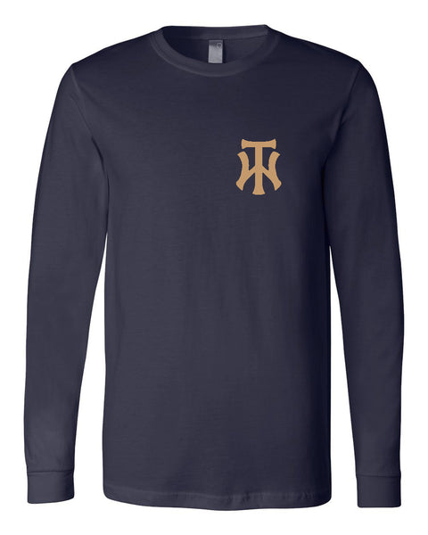 TW Unisex Long Sleeve Jersey Tee Embroidery Logo - L&M Spirit Gear