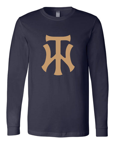 TW Unisex Long Sleeve Jersey Tee Screen Print Logo - L&M Spirit Gear