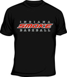 Indiana Smoke Baseball Tee - L&M Spirit Gear