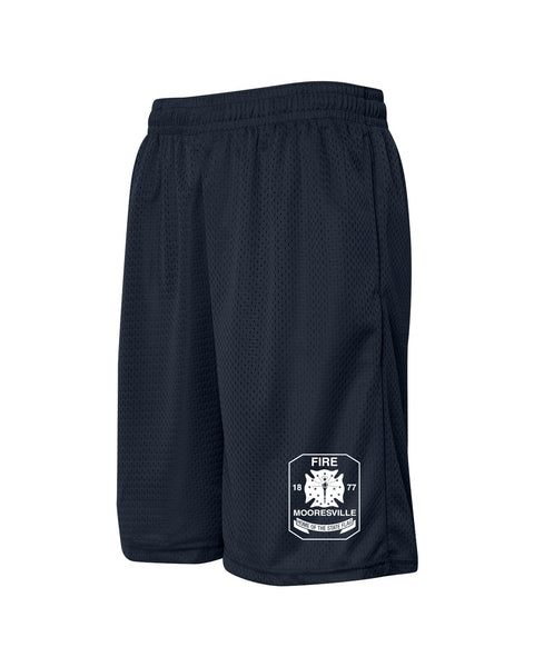 Mooresville Fire Department - Mesh Shorts - EMB
