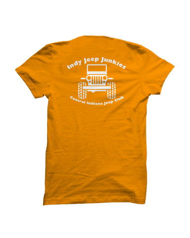Jeep Junkies Orange Tee & Hoodie