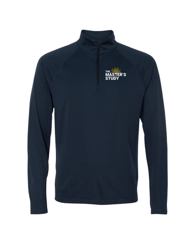 The Master's Study Dri Fit Quarter Zip EMB