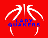Lady Quakers Red Sweatpants - L&M Spirit Gear