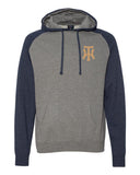 TW Raglan Hooded Pullover Embroidered Logo - L&M Spirit Gear