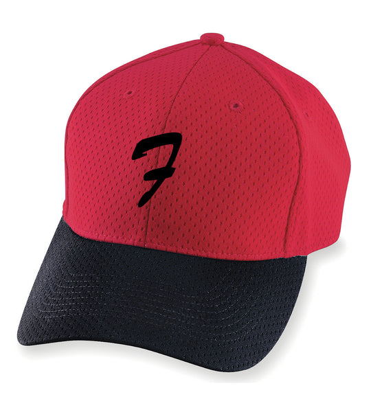 Red Baseball Hat - L&M Spirit Gear