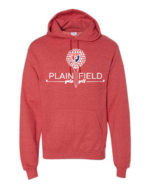 PCMS Golf Champion - Double Dry Eco® Hooded Red Sweatshirt - SP