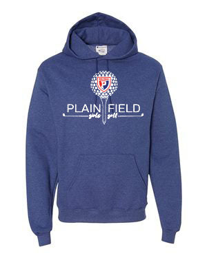 PCMS Golf Champion - Double Dry Eco® Hooded Blue Sweatshirt - SP