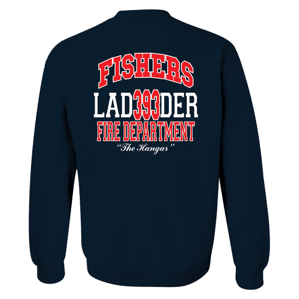 Station 393 - Champion Crewneck, Hoodie, Full Zip with Ladder Logo (SP 16 & 23) - L&M Spirit Gear