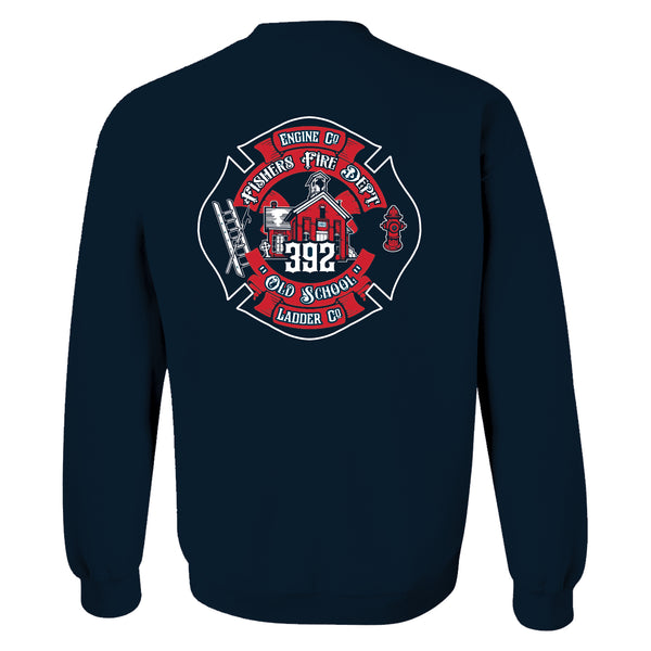 Station 392 - Champion Crewneck, Hoodie, Full Zip with Patch (SP 15 & 29 ) - L&M Spirit Gear