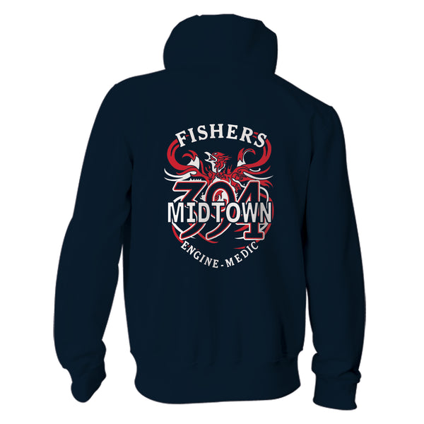 Station 394 - Champion Crewneck, Hoodie, Full Zip with Patch (SP 17 & 31) - L&M Spirit Gear