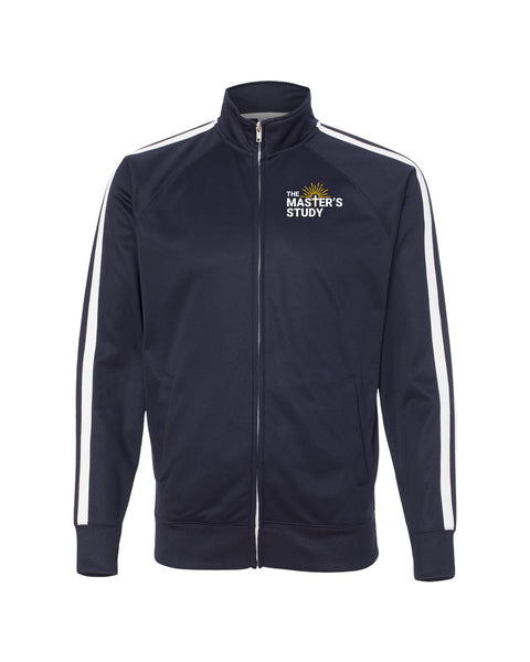 The Master's Study Track Jacket EMB