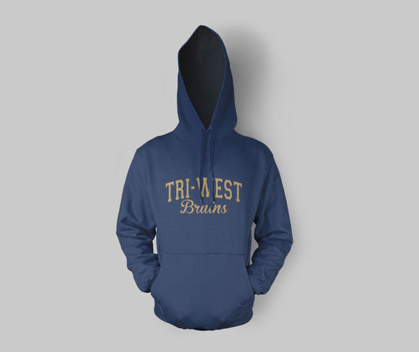 Tri West Bruins Navy Hoodie SP2 - L&M Spirit Gear