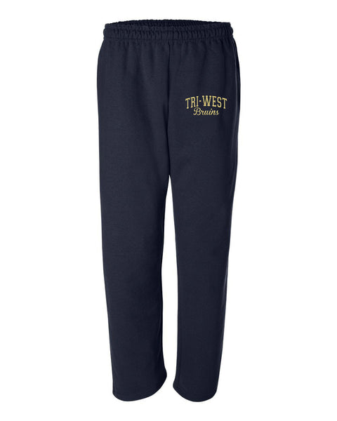 Tri West Bruins Sweat Pants Glitter - L&M Spirit Gear