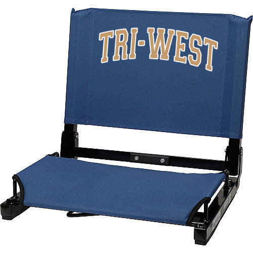 Tri-West Stadium Seat - L&M Spirit Gear